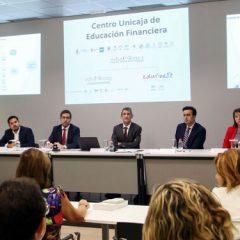 El Proyecto Edufinet de Unicaja presenta su programa de educación financiera a docentes – España