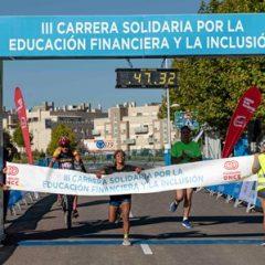 Mañana se celebra la III Carrera solidaria por la educación financiera inclusiva de las personas con discapacidad – España