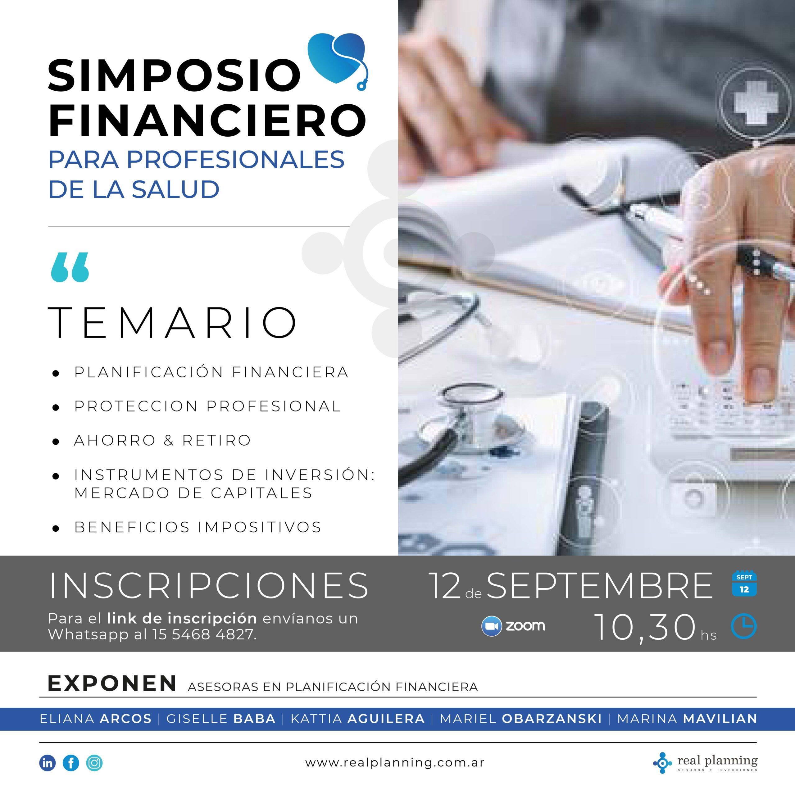 Simposio Financiero para Profesionales de la Salud