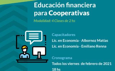 Mendoza inicia un ciclo de Educación Financiera para Cooperativas