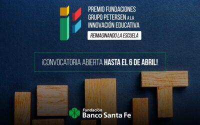 Se lanza el premio Fundaciones Grupo Petersen a la innovación educativa