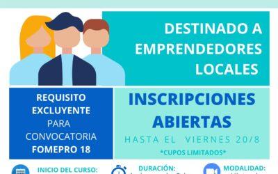 """Abierta la inscripción para el """"Curso Básico de Educación Financiera para Emprendedores"""""""